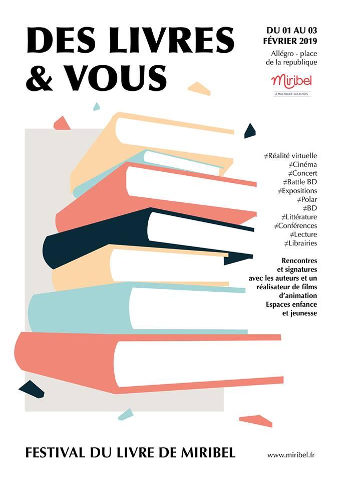 affiche Des livres et vous 2019